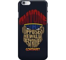 M. Bison Wins iPhone Case/Skin