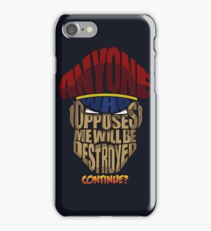 M. Bison Wins iPhone Case/Skin