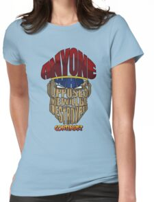 M. Bison Wins Womens Fitted T-Shirt