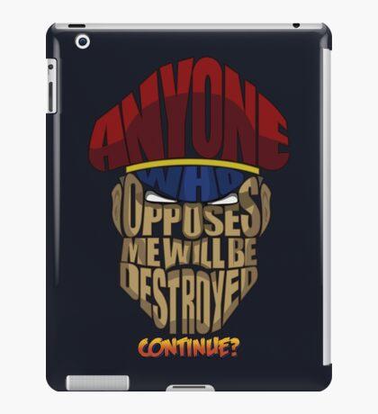 M. Bison Wins iPad Case/Skin