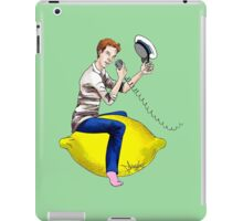 The Travelling Captain iPad Case/Skin
