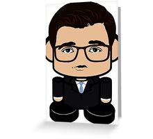 Chris Hayes Politico'bot Toy Robot 1.0 Greeting Card