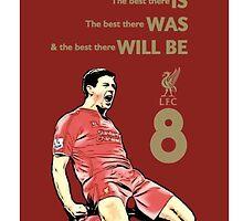 Steven Gerrard by barrydarcy