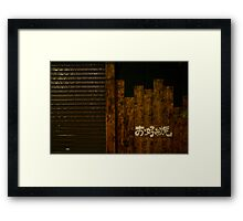Abode Framed Print