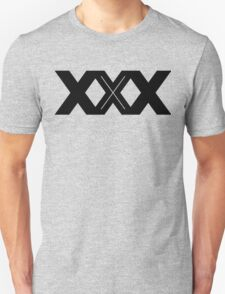 XXX Single Inline [Black Ink] T-Shirt