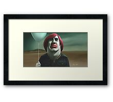 Life after being a movie villain. Framed Print