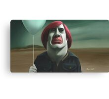 Life after being a movie villain. Canvas Print