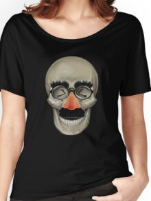Died Laughing - Skull Women's Relaxed Fit T-Shirt