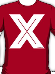 X Inline [White Ink] T-Shirt