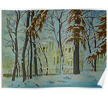 Kiev Winter Poster