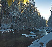 El Capitan, Snowy Corridor by photosbyflood