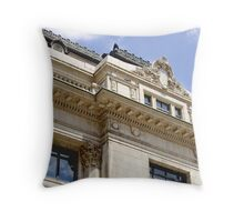 CORNER OFFICE Throw Pillow