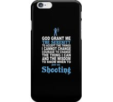 Limited Edition Shooting Tshirts iPhone Case/Skin