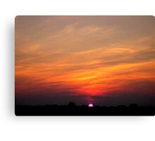 *JULY SUNSET* Canvas Print