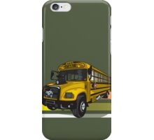 School bus iPhone Case/Skin