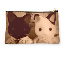 Sylvanian Families ~ Cat Couple Vintage Studio Pouch