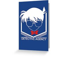 Detective Conan Detective Agency Anime Cosplay T Shirt Greeting Card