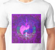 Tree of Life Energy Yin Yang Unisex T-Shirt