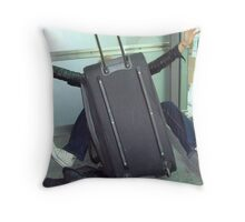 Attack of the 3ft Luggage Throw Pillow