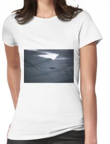 Lonely Boat Womens Fitted T-Shirt