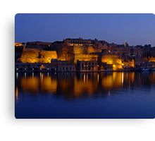 Valletta Reflections Canvas Print