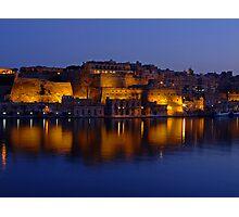 Valletta Reflections Photographic Print