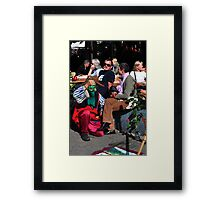 The Greenman Framed Print