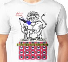 Donkey Dinner 4 Turntables and i Microphone Unisex T-Shirt