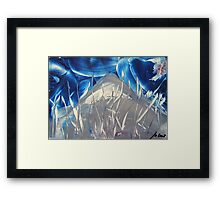 angel on the fly.... Framed Print