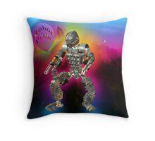 Robot Pride... Some Like '.Em Butch... Throw Pillow