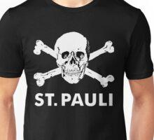 St.Pauli Braun Totenkopf Unisex T-Shirt