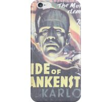 Boris Karloff Frankenstein iPhone Case/Skin