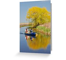 Exploring the Marsh Greeting Card