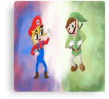 Nintendo Mash Up  Metal Print