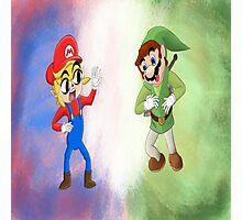 Nintendo Mash Up  Photographic Print