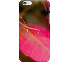 Orange Droplets iPhone Case/Skin