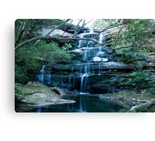 Tranquil Water Fall Canvas Print