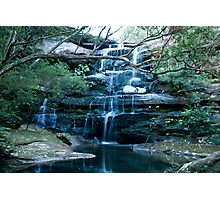 Tranquil Water Fall Photographic Print