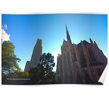 The two cathedrals Poster