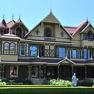Front Of The Winchester Mystery House by VanillaDolphin