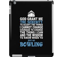 Limited Edition Bowling Tshirt iPad Case/Skin