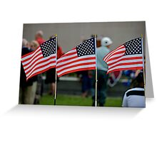 Broad Stripes and Bright Stars Greeting Card