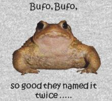 Bufo Bufo Toad, So Good They Named It Twice One Piece - Long Sleeve