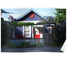 A Little Cottage on Cowichan Bay, B.C. Poster