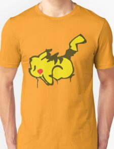 Pikachu Graffiti T-Shirt