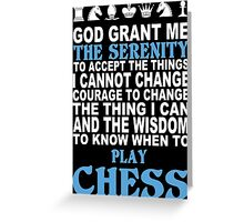 Funny Chess Tshirts, Mobile Covers and Posters Greeting Card