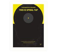 No143 My This Spinal Tap minimal movie poster Art Print