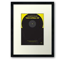 No143 My This Spinal Tap minimal movie poster Framed Print