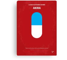 No144 My AKIRA minimal movie poster Canvas Print