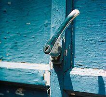 old garage handle by Alex Eldridge